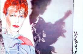 david bowie scary monsters cover