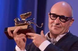 Gianfranco Rosi il Leone d'oro di Venezia