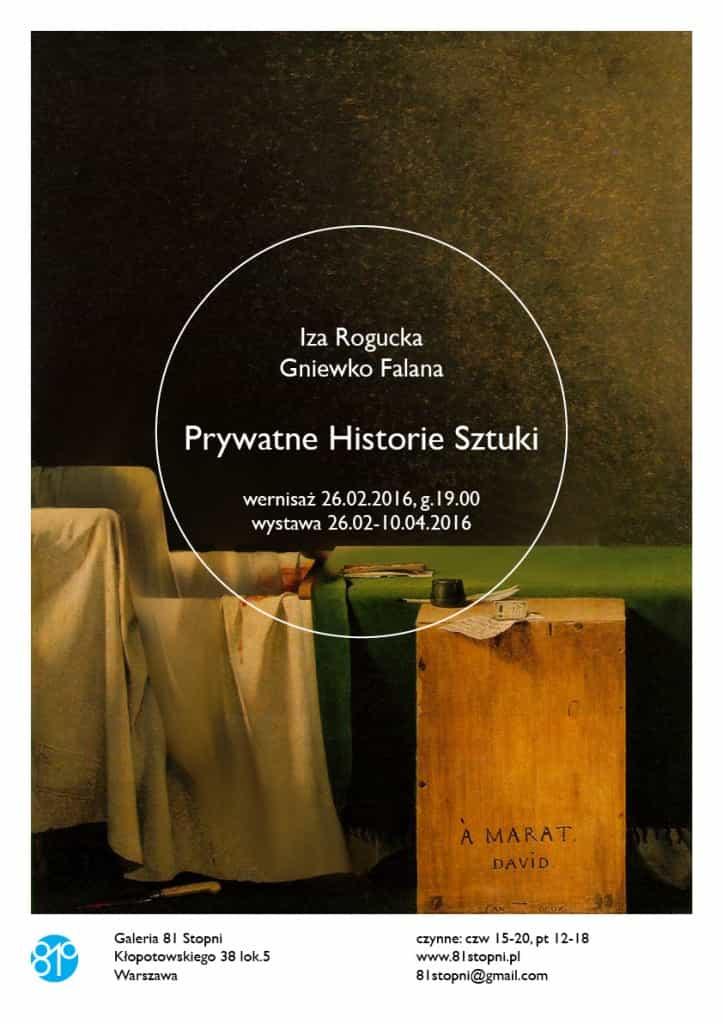 prywatne historie sztuki plakat